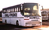 Rowell Coaches Ltd, excursions throughout the UK